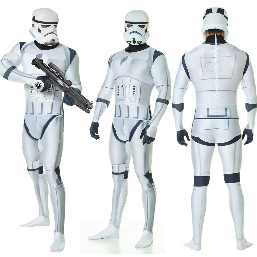 Stormtrooper Morphsuit - Adult Star Wars Fancy Dress -1584