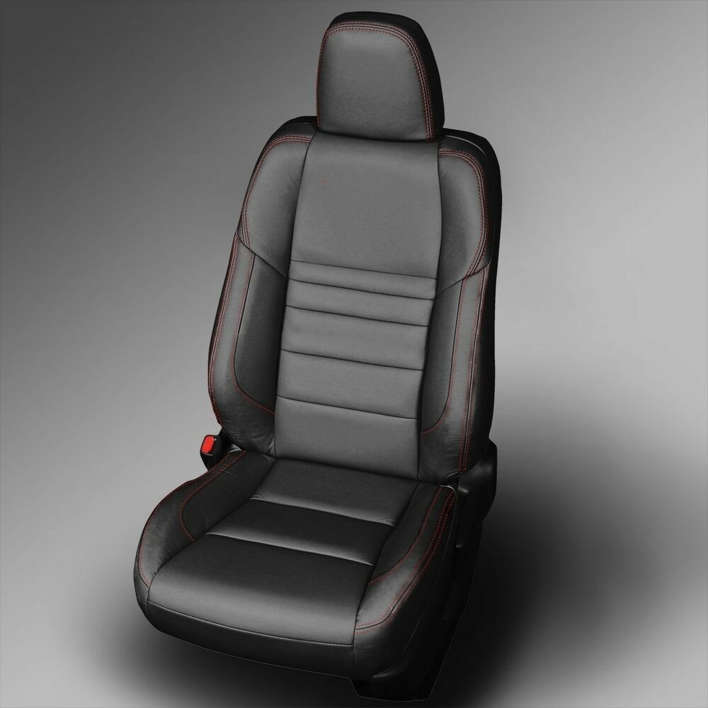 black katzkin leather interior seat cover fit 2015 2016 2017 toyota camry se xse ebay. Black Bedroom Furniture Sets. Home Design Ideas