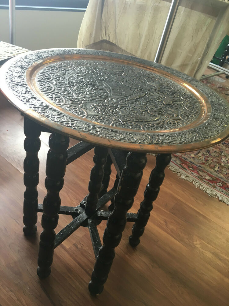Beautiful Antique Persian Isfahan Hand Hammered Decorative