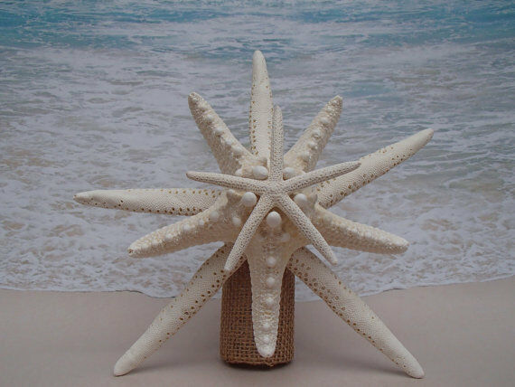 SALE Starfish Tree Topper- Tropical Beach Christmas