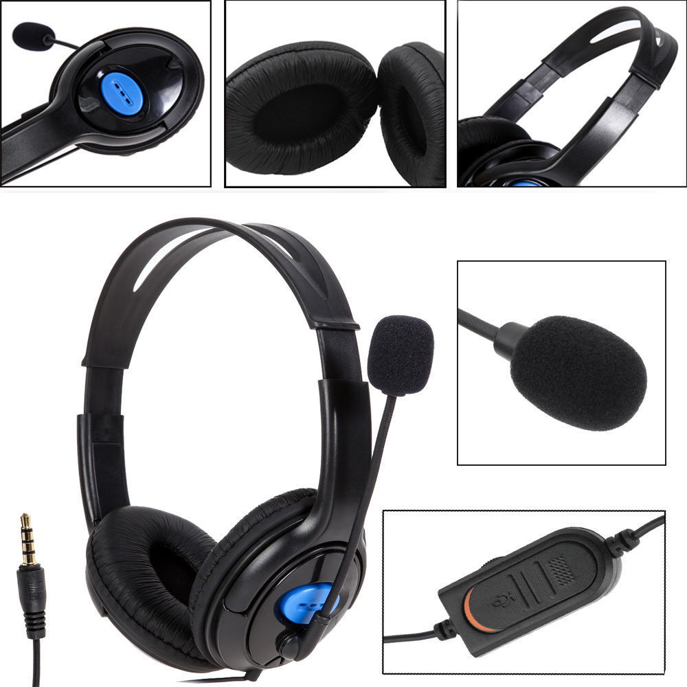 Wireless gamer headphones with microphone - headphones playstation 4 with microphone