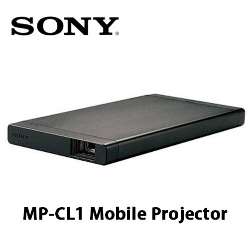 Sony mp cl1 mobile projector mini laser beam scanning home for Mp50 portable hdmi projector
