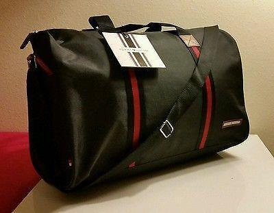 tommy hilfiger parfums men duffle bag weekender gym travel overnight handbag ebay. Black Bedroom Furniture Sets. Home Design Ideas