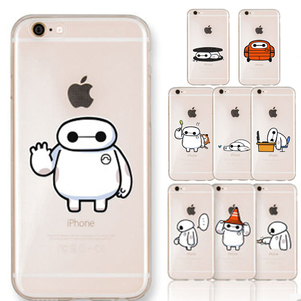 clear iphone cases big 6 baymax clear soft skin for 4512