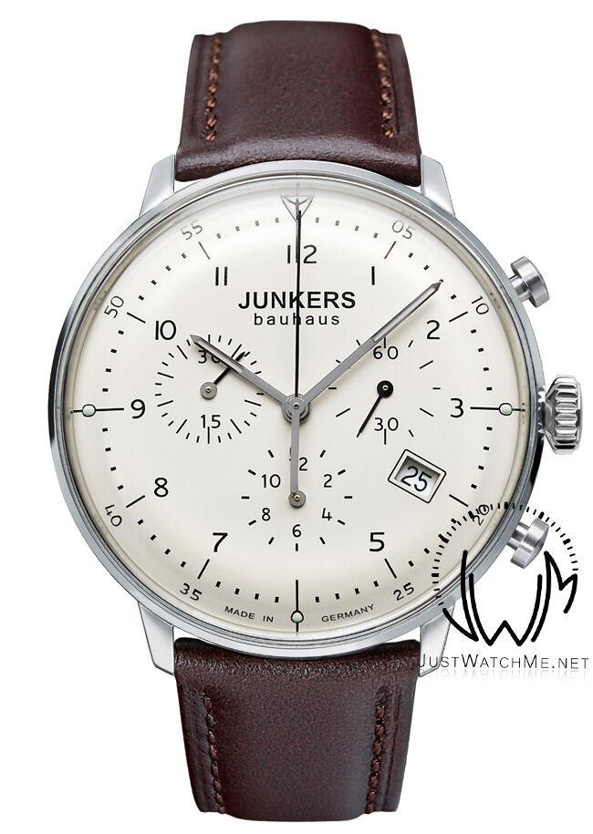 Junkers Bauhaus 6086-5 Chronograph Watch -Vintage Style