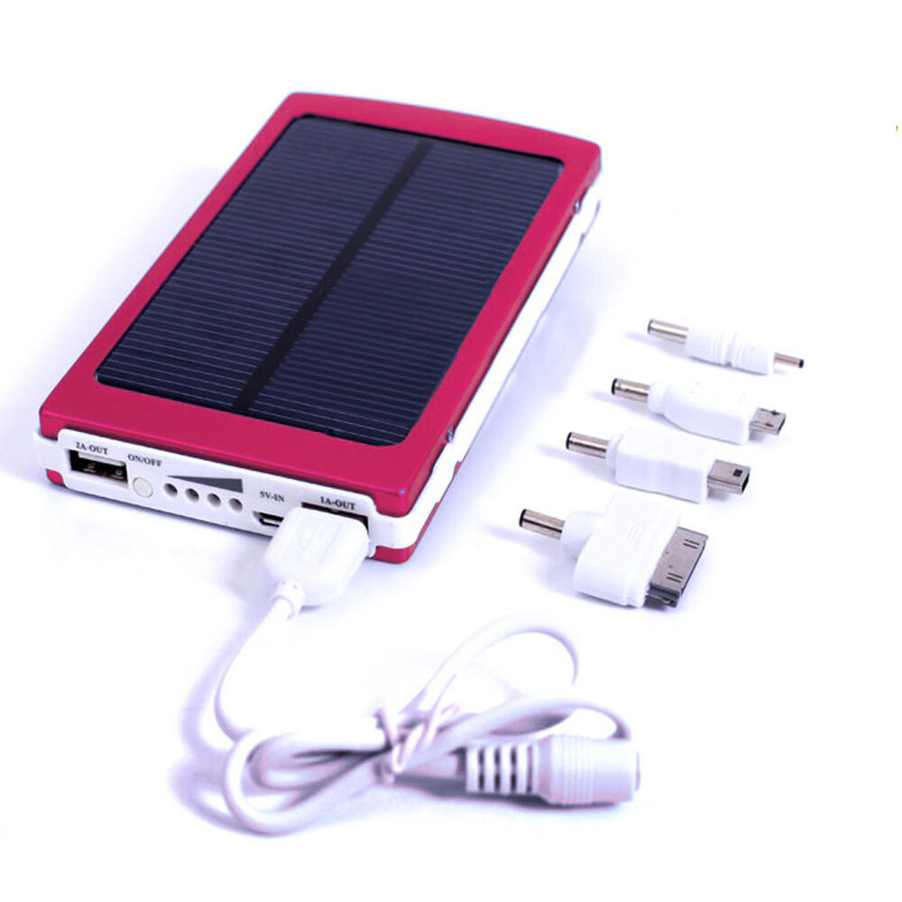 30000mAh Portable USB Battery Charger Solar Power Bank For