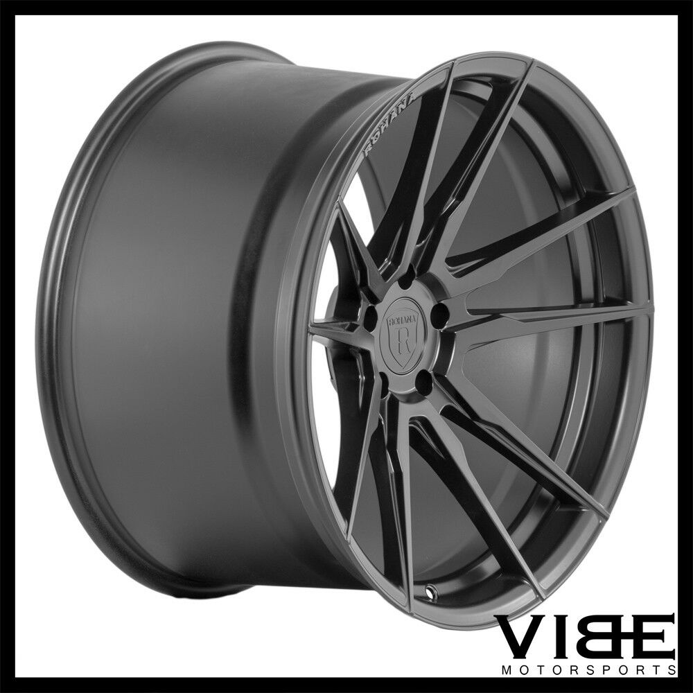 Forged Parts Black And White : Quot rohana rf black concave forged wheels rims fits