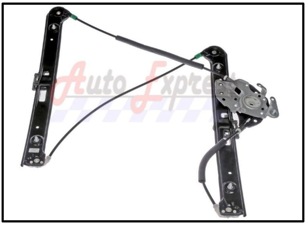Power window regulator front left driver side w out motor for 2001 bmw x5 window regulator replacement