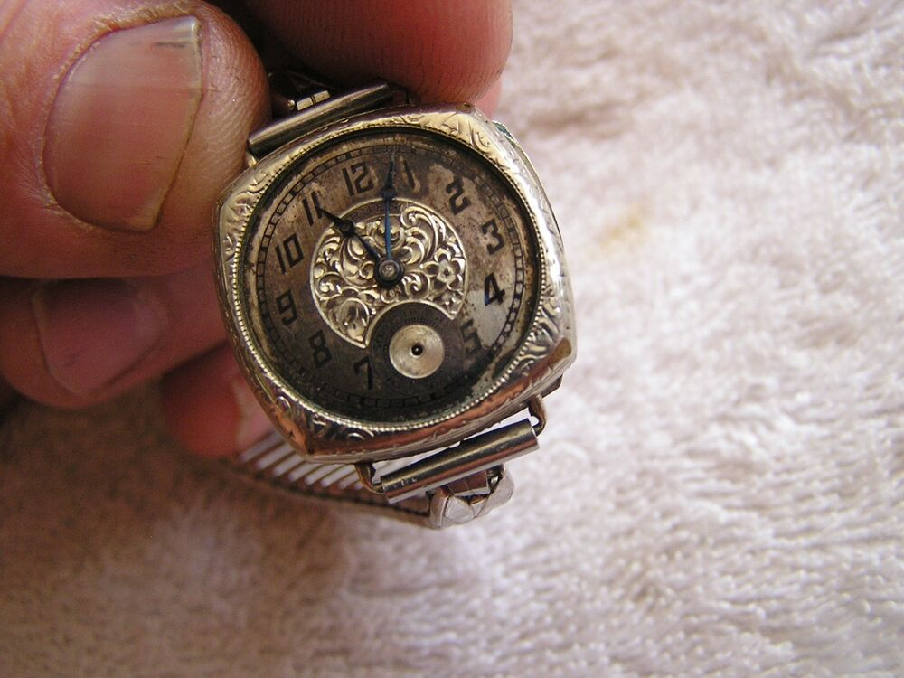 vintage gruen guild watch gold filled 15 jewels ebay. Black Bedroom Furniture Sets. Home Design Ideas