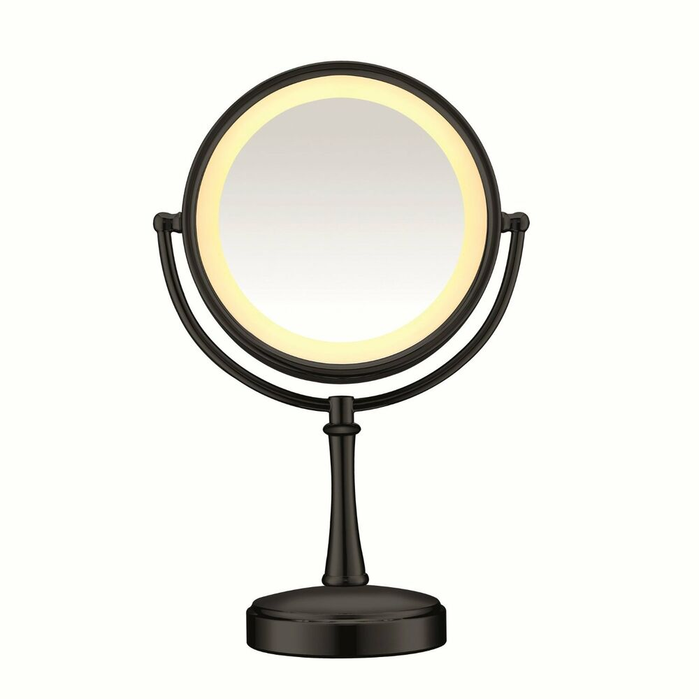 Conair Touch Control 7x 1x Magnifying Make Up Mirror