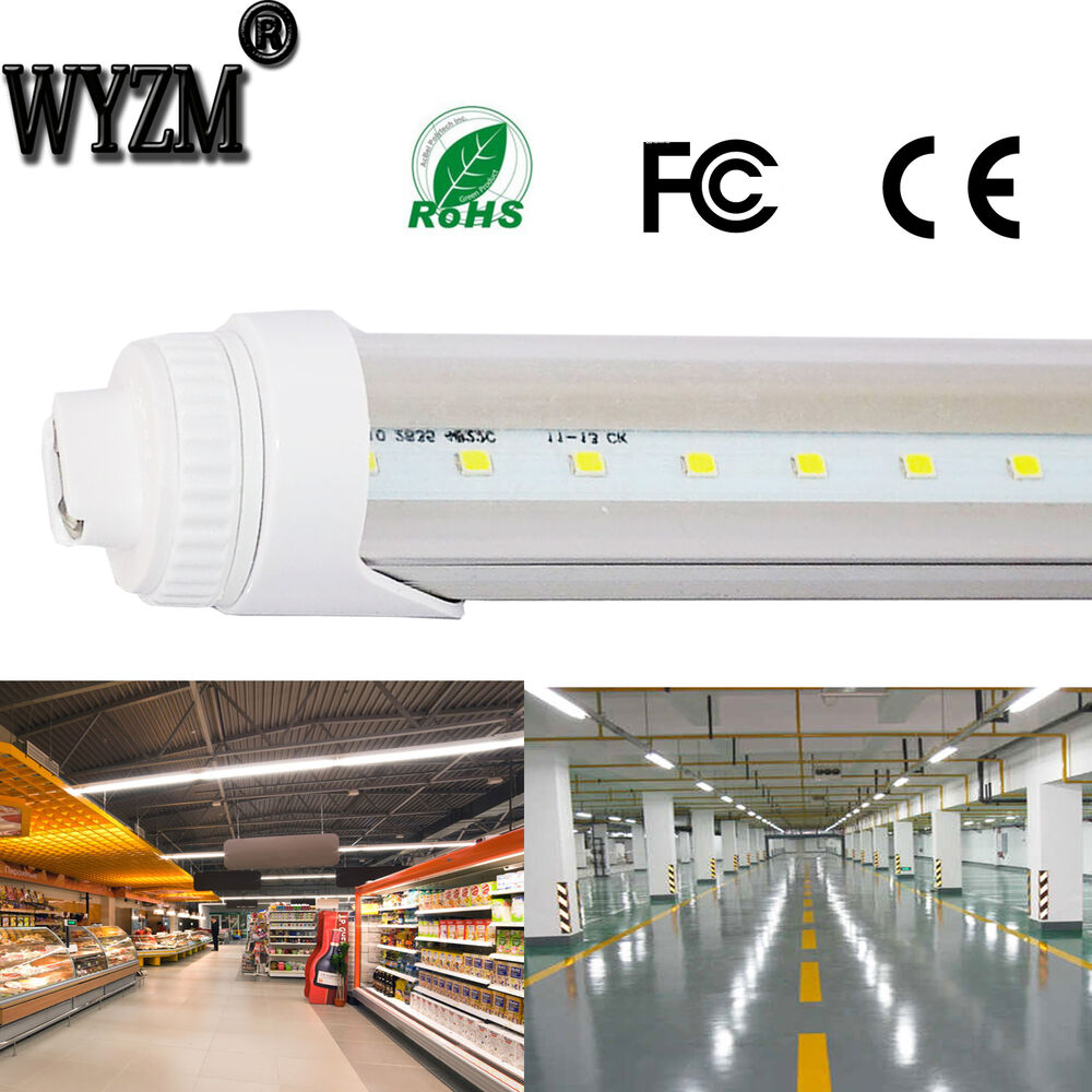 Wyzm T8 5ft 25w Led Tube Light Bulb Fluorescent