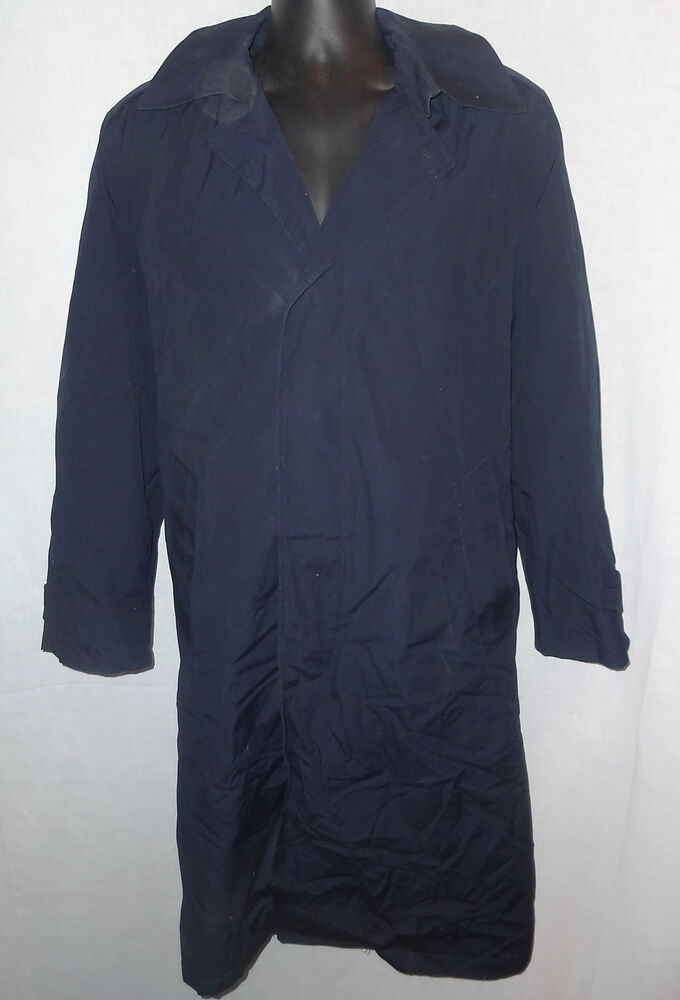 Usaf Air Force Dress Uniform Trench Overcoat Allweather