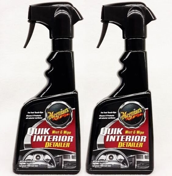 2 meguiars quik interior detailer spray amp wipe quick