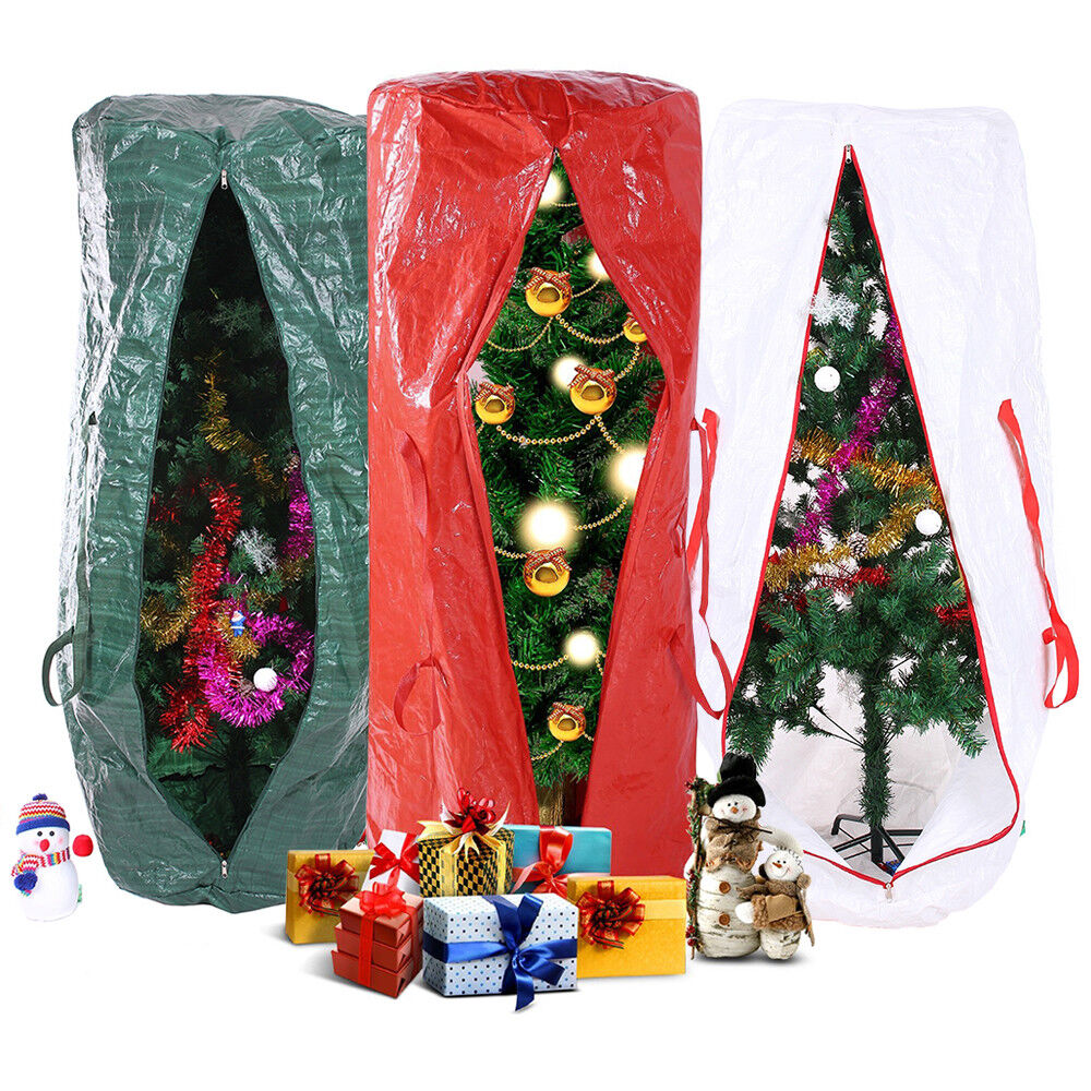 9 feet strong christmas xmas tree storage bag extra large decoration container ebay. Black Bedroom Furniture Sets. Home Design Ideas