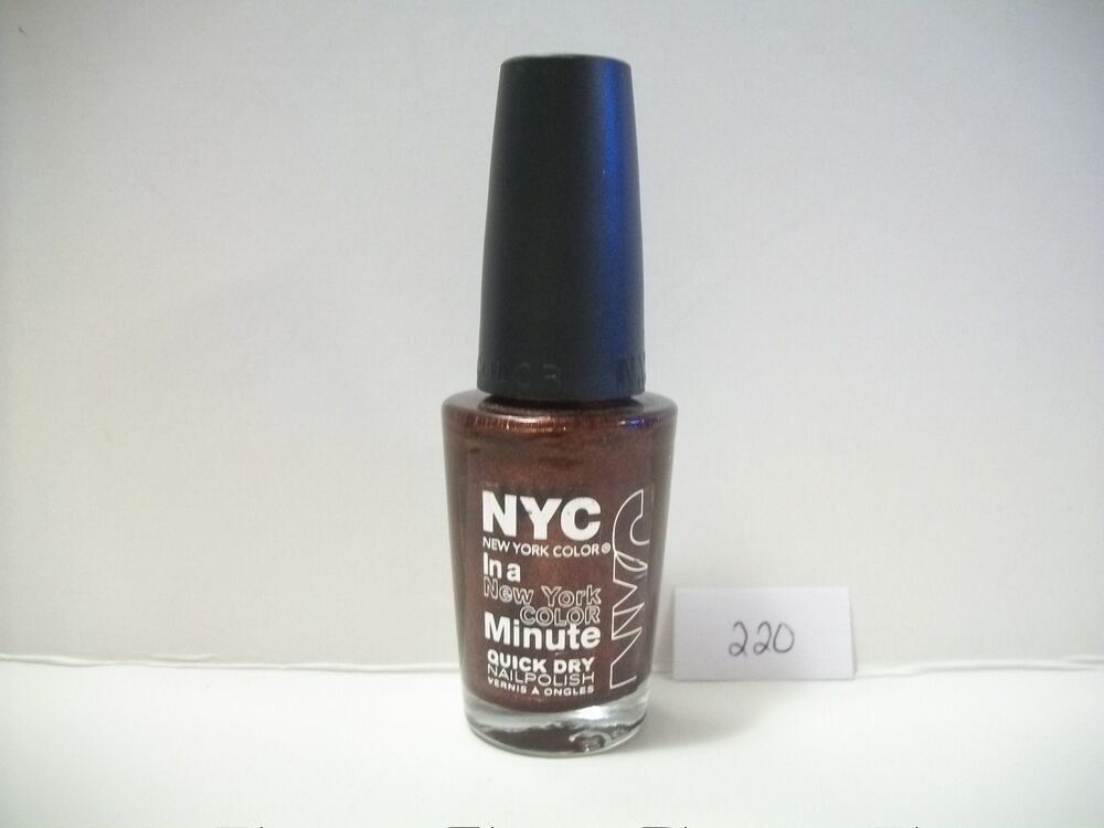NYC In A New York Color Minute Quick Dry Nail Polish #220