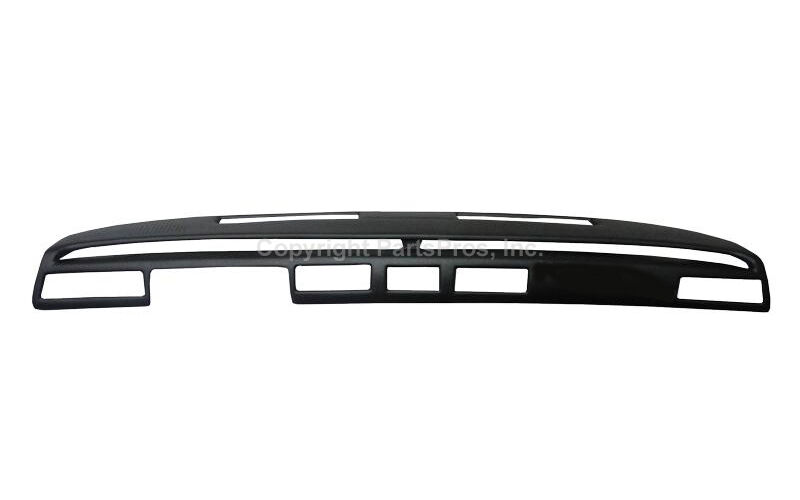 New Black Accu Form Molded Dash Cap For 1976 1979