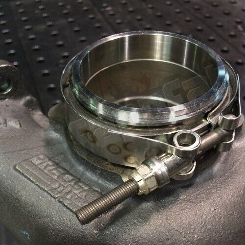 V-Band Clamp & 304 Stainless Flange Kit for Precision ...