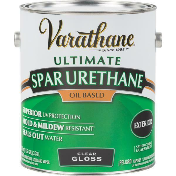 1 gal varathane exterior wood marine deck siding clear - Exterior paint oil or water based ...