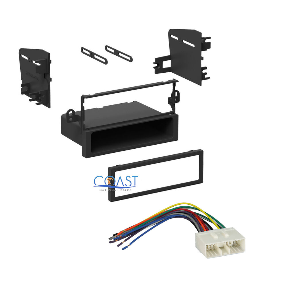 s l1000 car stereo single din dash kit wiring harness for chevrolet aveo single din wiring harness gm 98 at webbmarketing.co