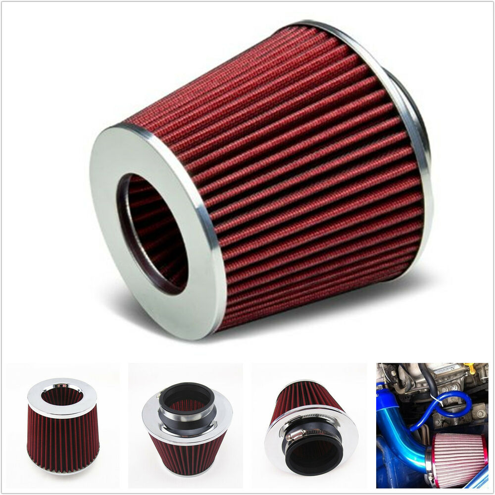 Car Suv 3 Inch Inlet Cold Air Short Ram Intake High Flow