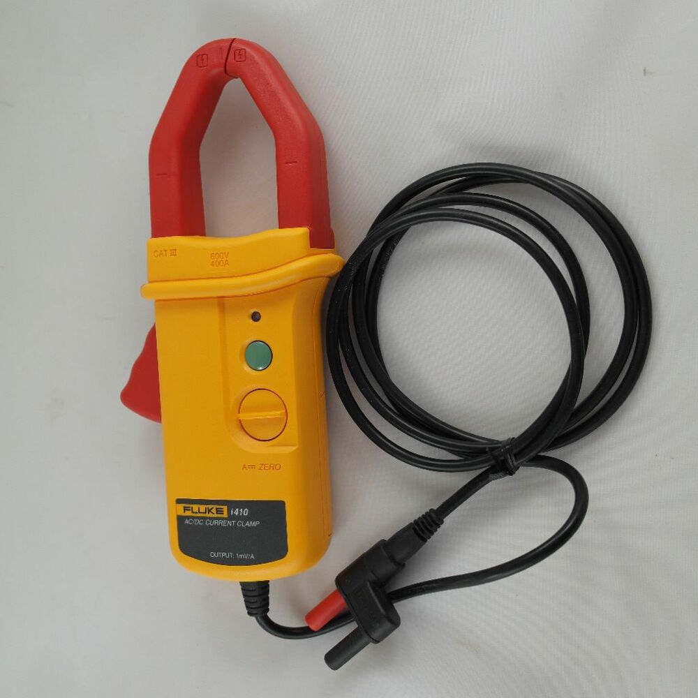 Dc Clamp On Probe : Fluke i ac dc current clamp w new calibration