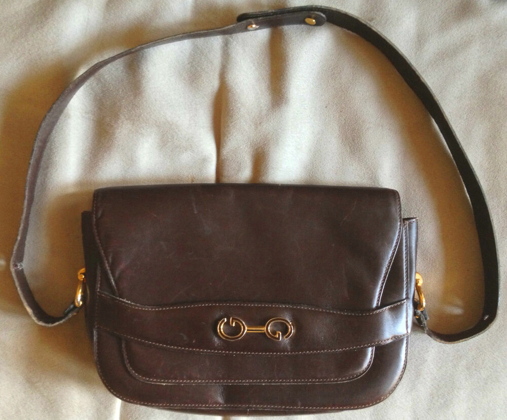 Gucci purse vintage lining of