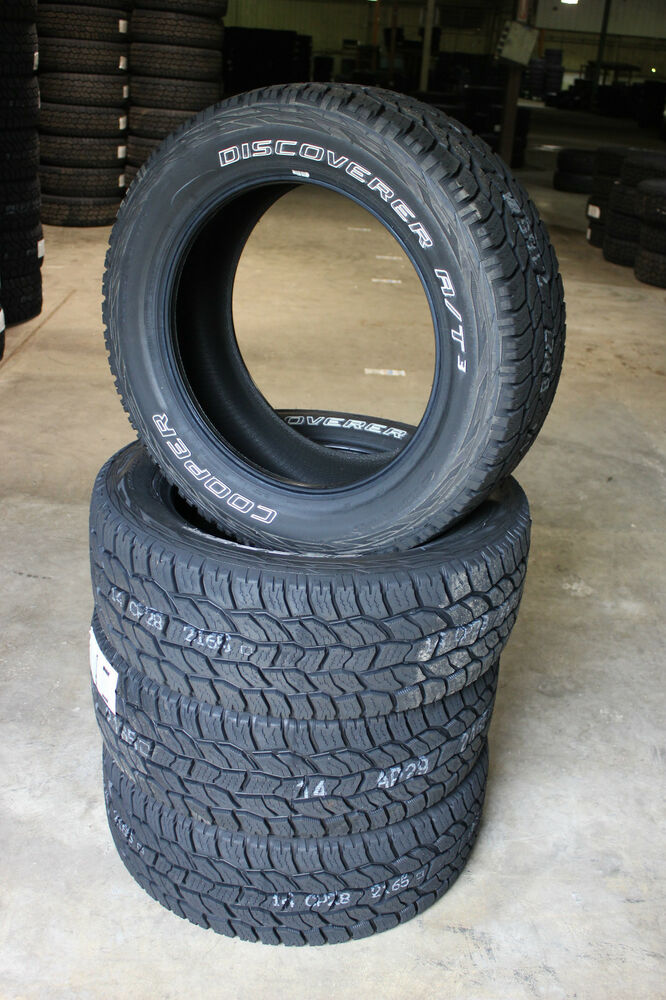 4 NEW LT 265 75 16 Cooper Discoverer AT3 All Terrain Tires ...