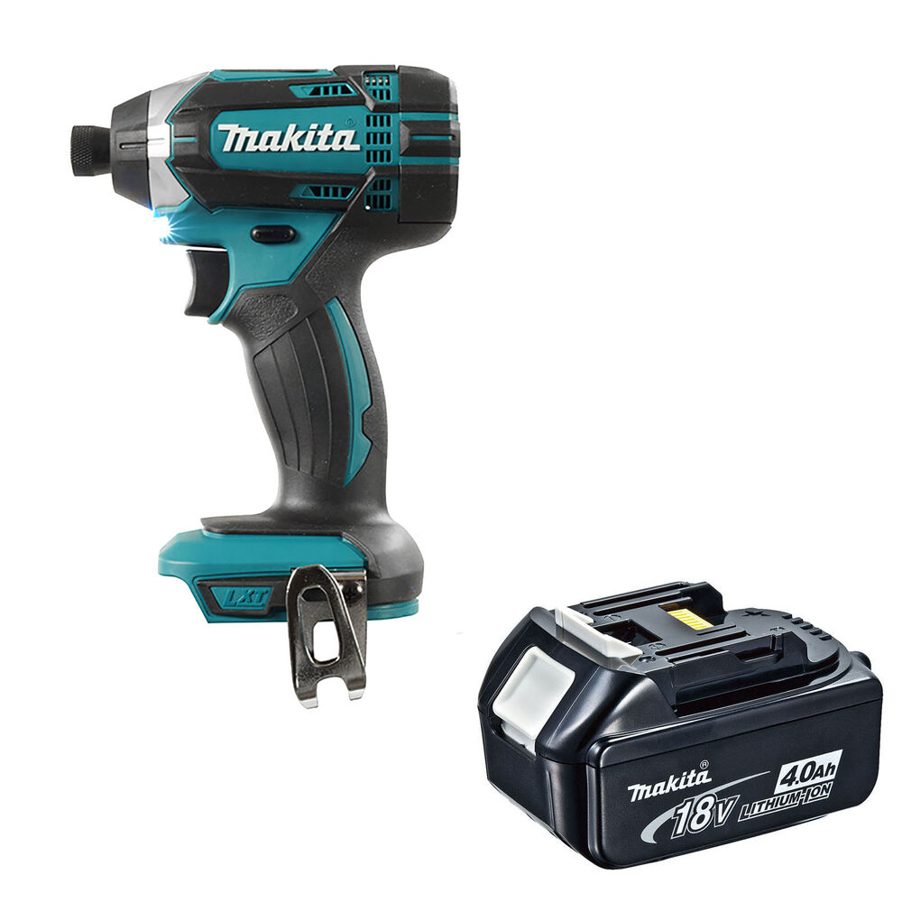 makita 18v xpt dtd152 dtd152z dtd152rfe impact driver and bl1840 battery ebay. Black Bedroom Furniture Sets. Home Design Ideas