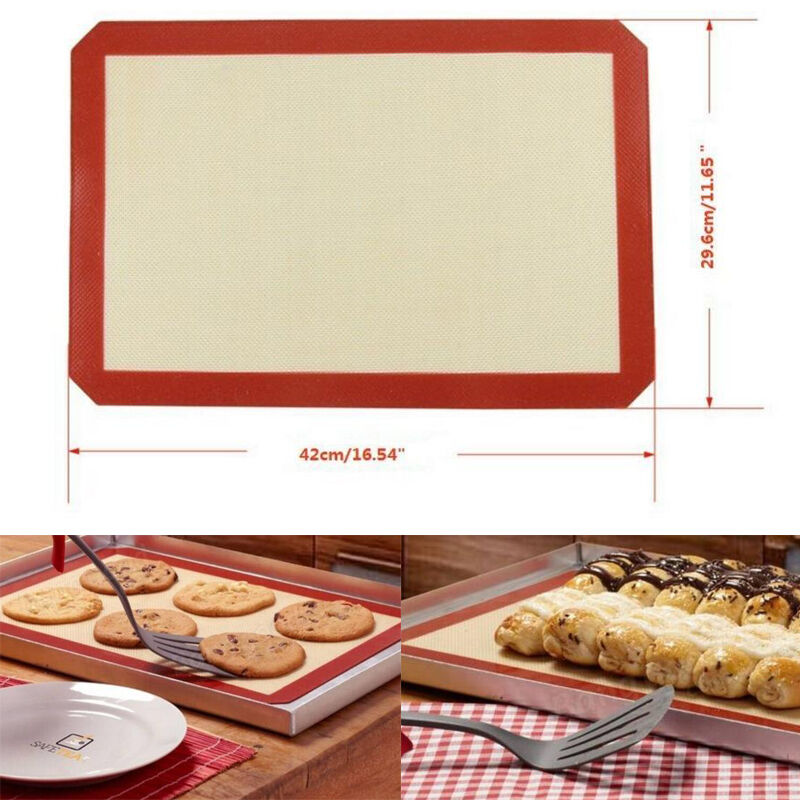 silicone baking sheets how to use