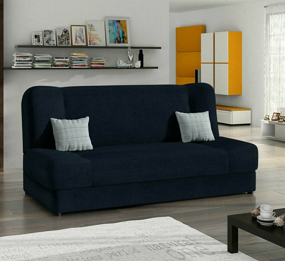 schlafsofa jonas mit bettkasten gro e farbauswahl couch schlafcouch sofa modern ebay. Black Bedroom Furniture Sets. Home Design Ideas