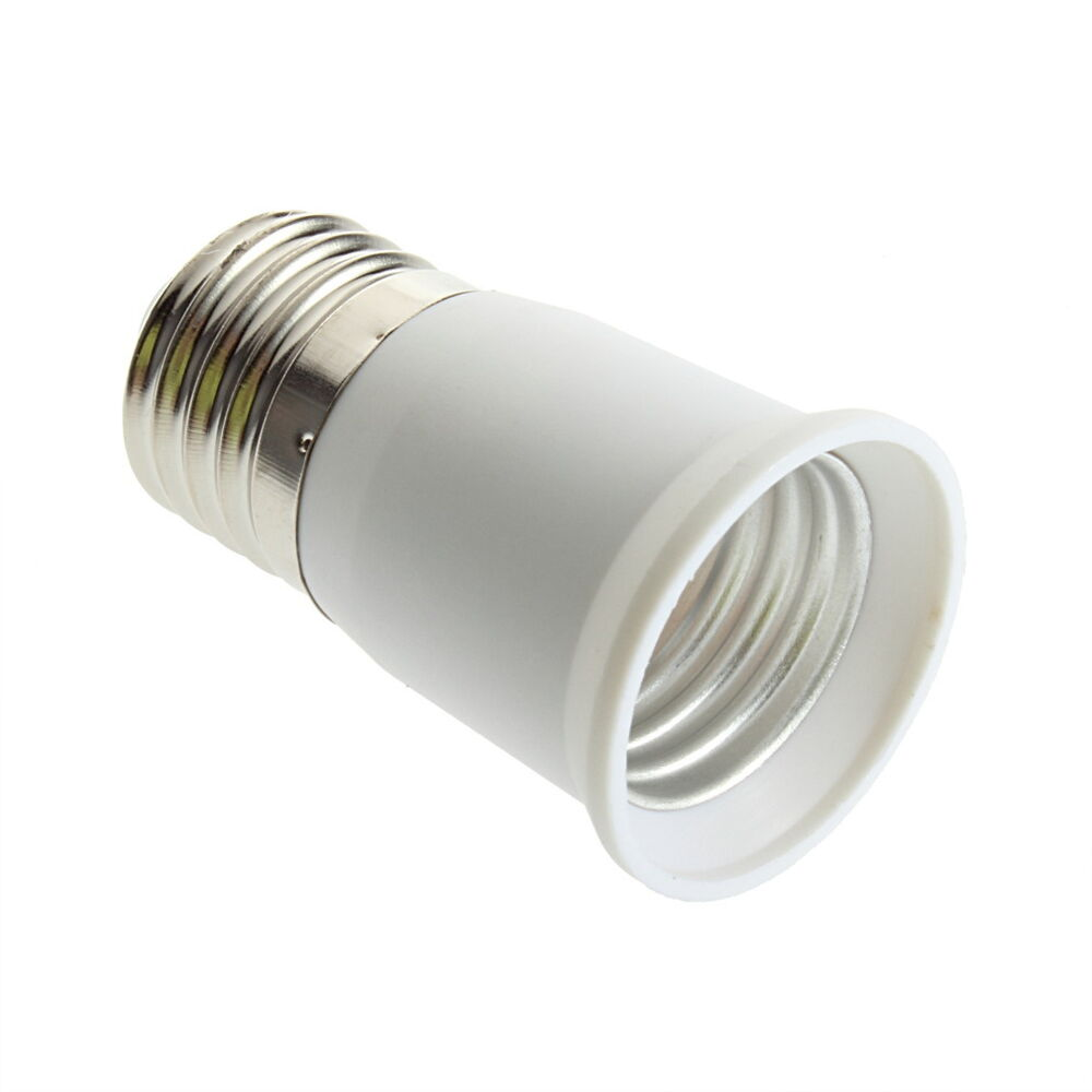 E27 to e27 socket light bulb lamp holder adapter plug extender lampholder fe ebay Light bulb socket