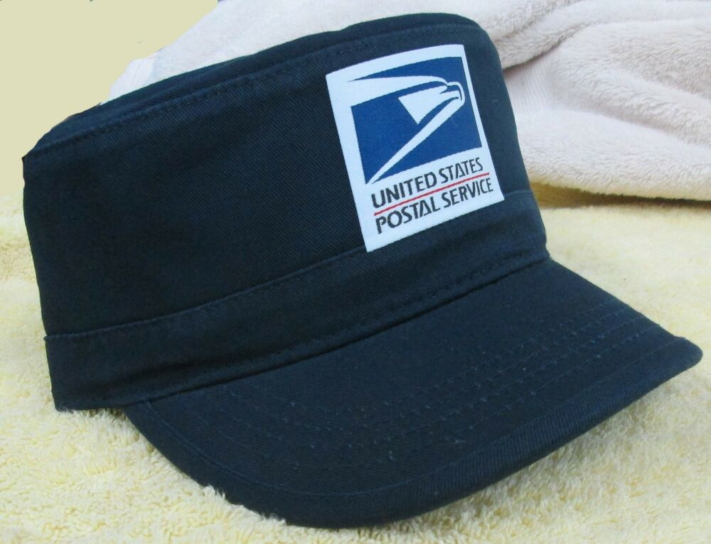 Usps United States Postal Service Adjustable Cadet Hat Cap