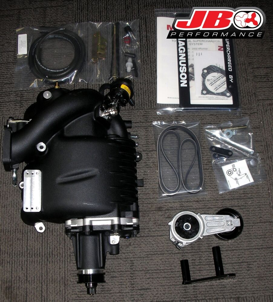 Turbo Kit Tacoma 4 0: Magnuson Supercharger Kit 96-04 Toyota 4-Runner Tacoma T