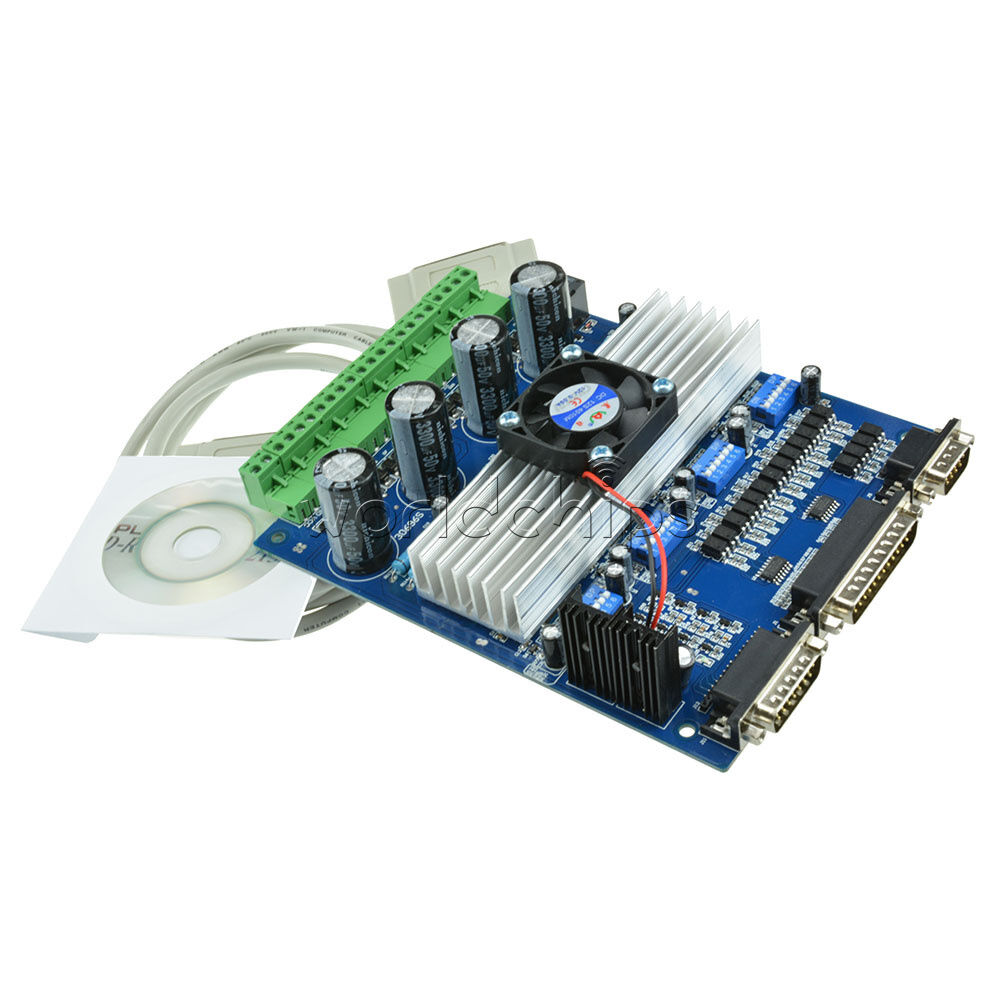 Cnc Tb6560 3 5a 4 Axis Stepper Motor Driver Board