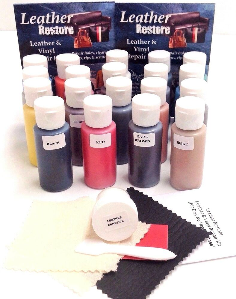 Leather Amp Vinyl Repair Kit Amp 1 Oz Ready To Use Color Fix