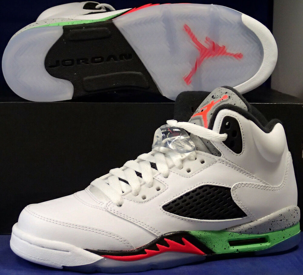 new style 4709c 8d5dc Details about Nike Air Jordan 5 V Retro Pro Stars Space Jam Youth SZ 6Y (  440888-115 )