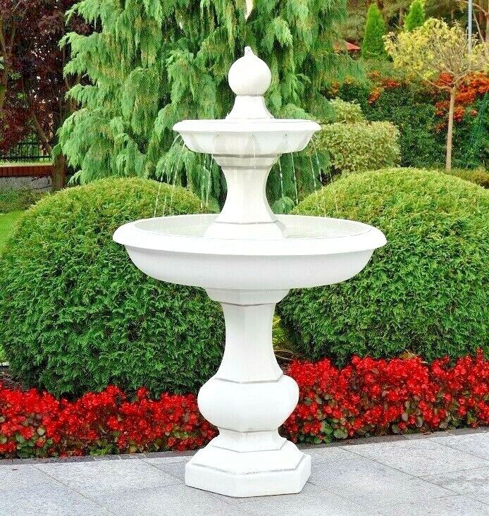 springbrunnen brunnen baron mit pumpe gartenbrunnen wasserspiel blackform ebay. Black Bedroom Furniture Sets. Home Design Ideas