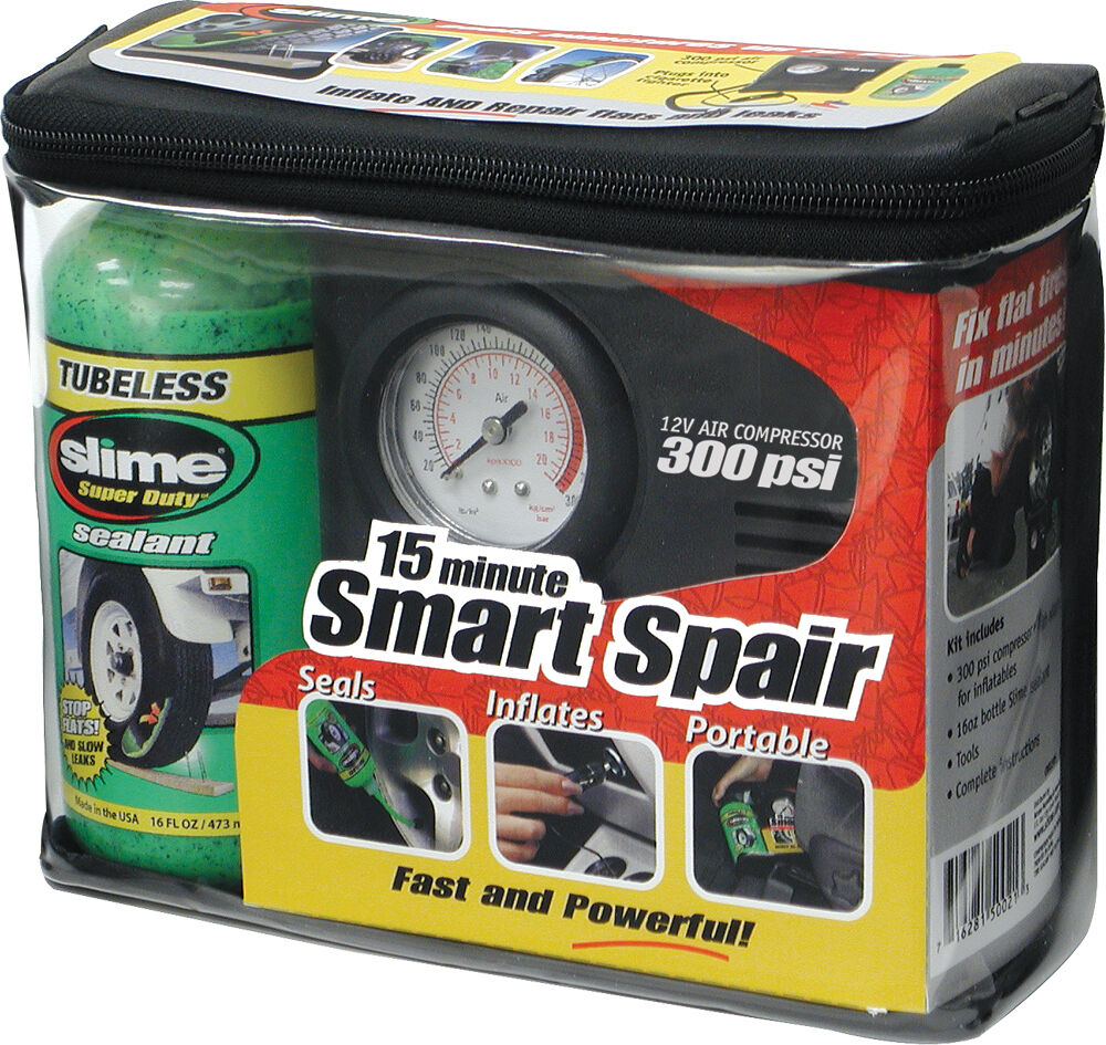 slime smart spair tire repair kit 716281507731 ebay. Black Bedroom Furniture Sets. Home Design Ideas