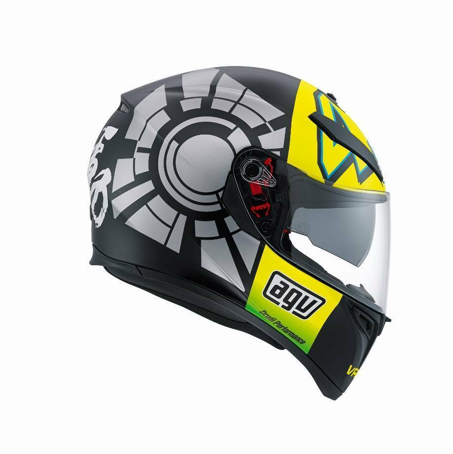 agv k3 sv winter test 2017 valentino rossi motorcycle. Black Bedroom Furniture Sets. Home Design Ideas