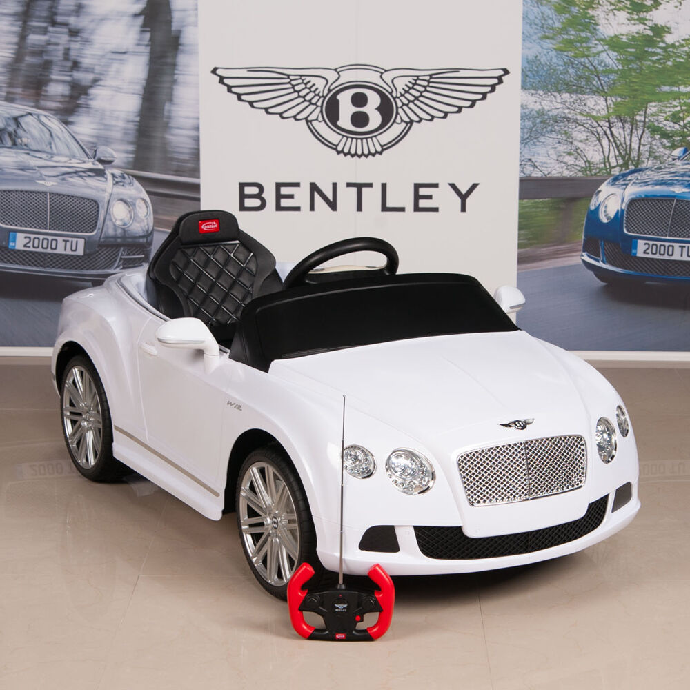 One For The Ladies Bentley Continental Gt Pink: Bentley GTC 12V Ride On Kids Battery Power Wheels Car RC