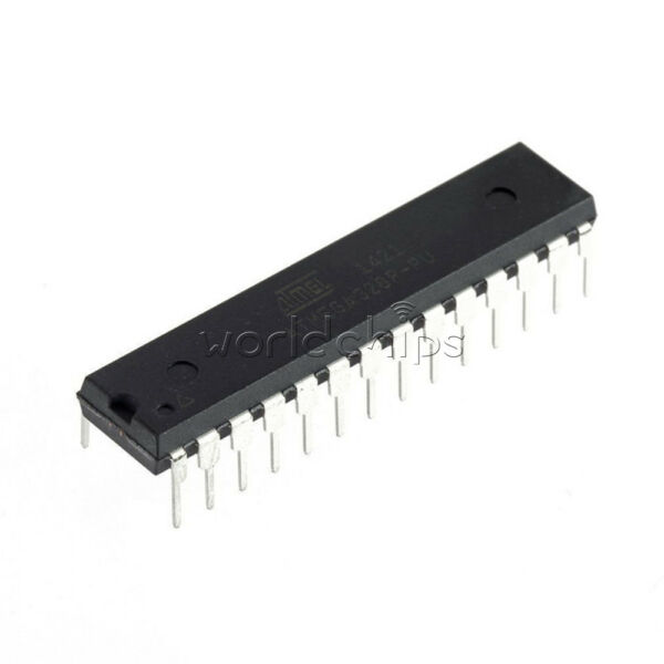 2PCS ATMEGA328P-PU Microcontroller With ARDUINO UNO R3 Bootloader top quality