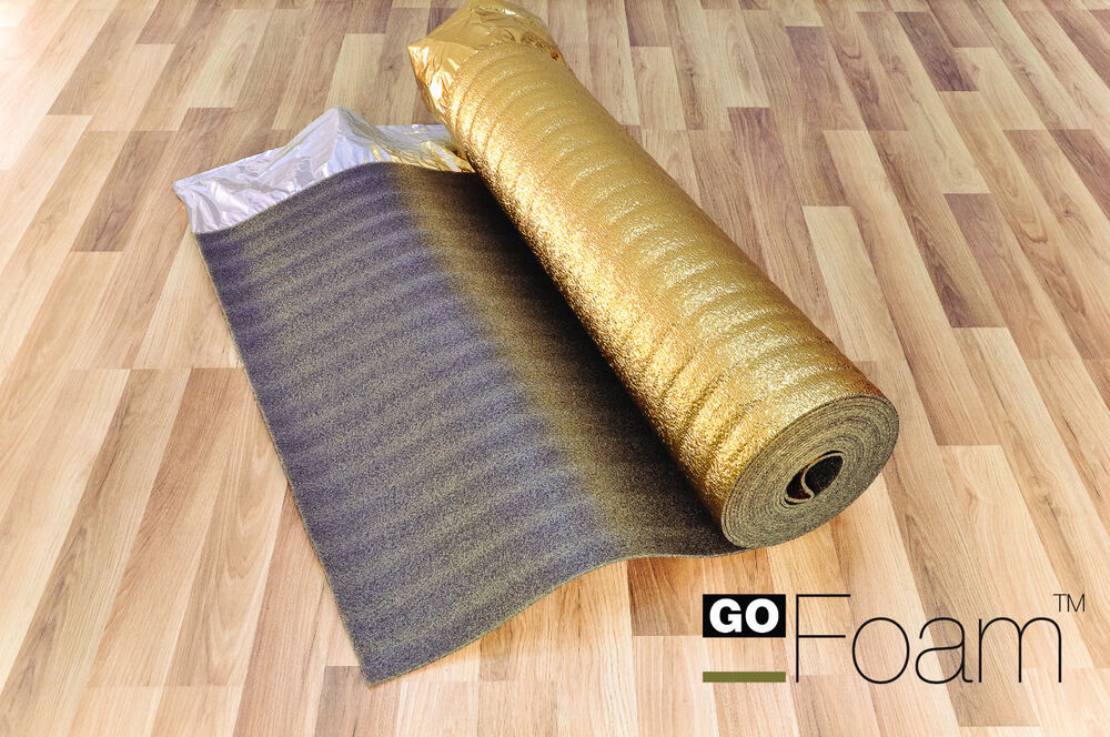 Sonic gold 5mm acoustic underlay for wood laminate for Wood floor underlay 5mm