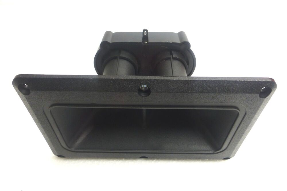 replacement horn for peavey 115tls dual high frequency horn driver tweeter ebay