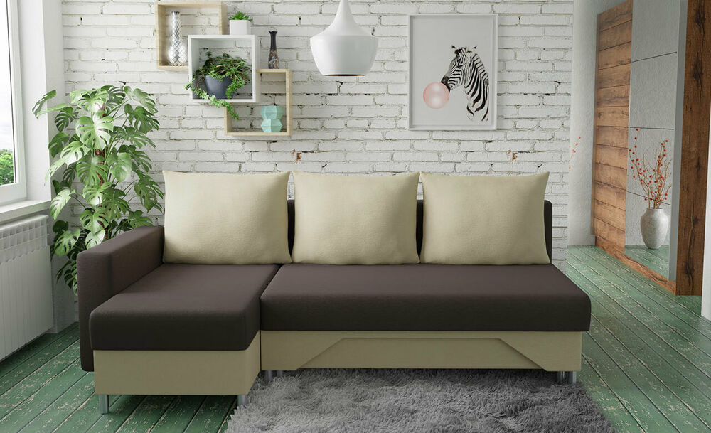 ecksofa todi mit bettkasten mit schlaffunktion couchgarnitur couch eckcouch neu ebay. Black Bedroom Furniture Sets. Home Design Ideas