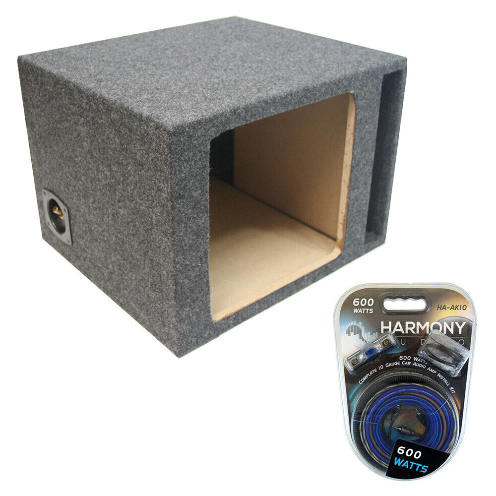 Kicker 10 ported solobaric l3 l5 l7 subwoofer enclosure for L ported speaker box