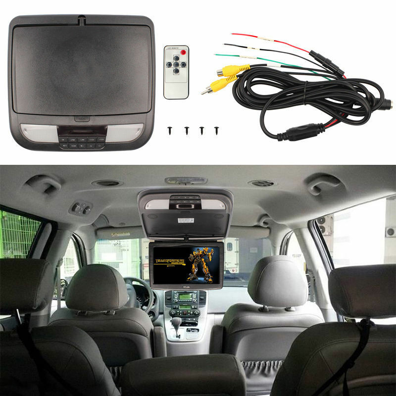10 Inch Black Auto Flip Down Tft Lcd Monitor Car Roof