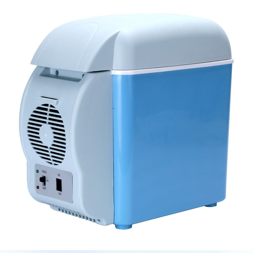 Small Portable Coolers : V l car small refrigerator mini compact cooler warmer