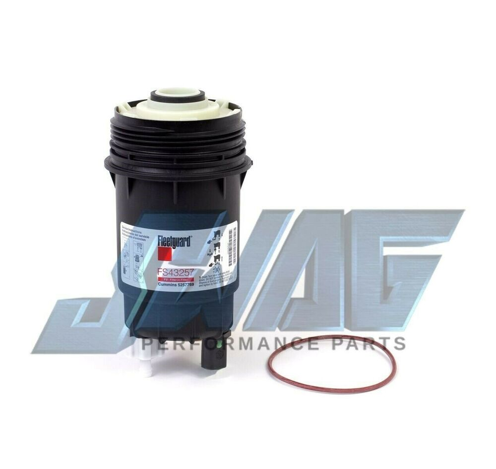 fleetguard fuel filter wif for 07 09 dodge 2500 3500 6. Black Bedroom Furniture Sets. Home Design Ideas