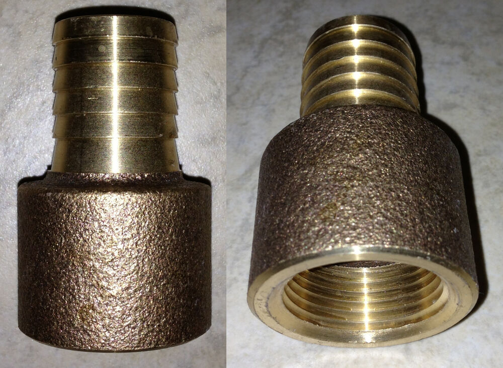 Quot fpt barb brass water well pump poly pipe barbed