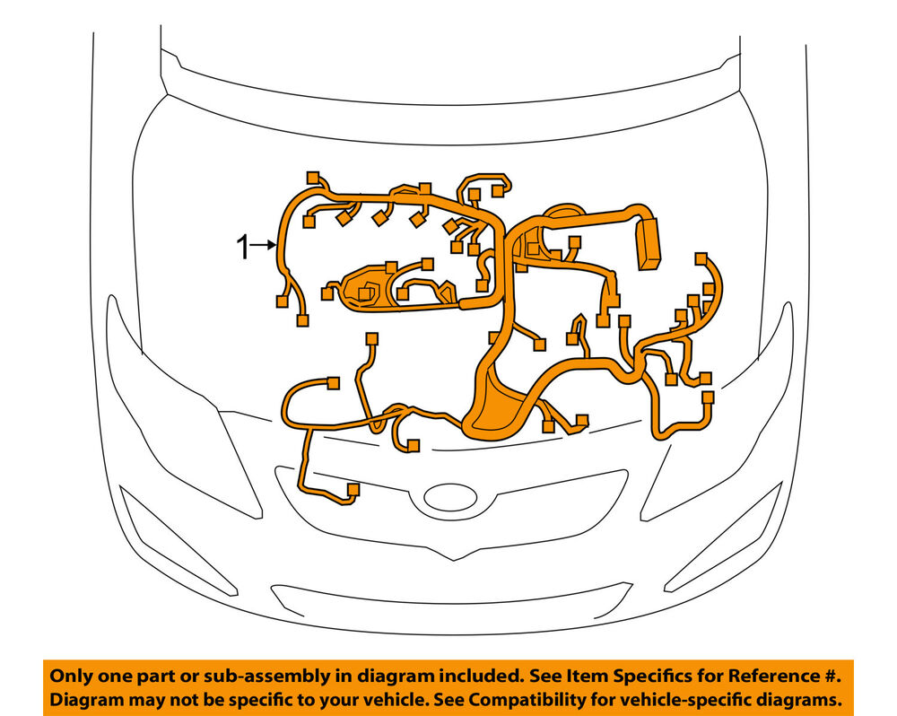 s l1000 toyota oem corolla engine control module ecm pcu pcm wiring  at bayanpartner.co